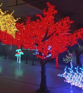 LED仿真树灯