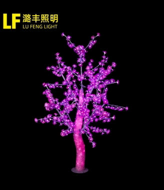 中山水晶树布艺花瓣